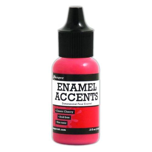 Enamel Accents -Classic Cherry