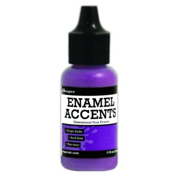 Enamel Accents -Grape Soda