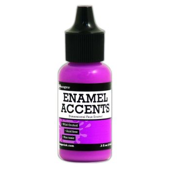 Enamel Accents -Wild Orchid