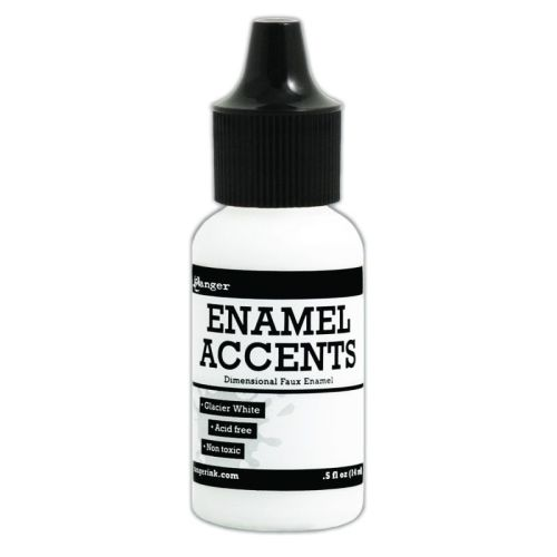 Enamel Accents -Glacier White