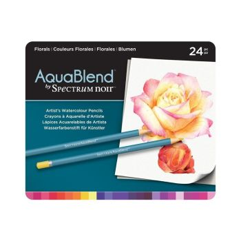 Crafter's Companion Spectrum AquaBlend Pencils - Florals