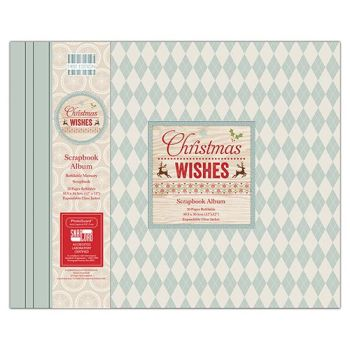 First Editions Christmas wishes 12x12 scrapbook Album