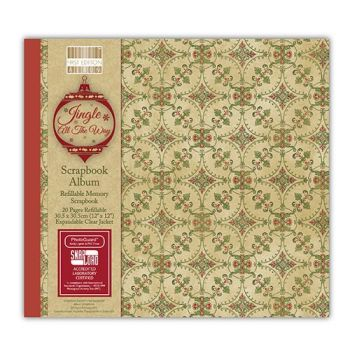 First Editions Jingle all the way 12x12 scrapbook Album