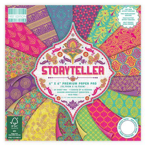 First Edition 6x6 FSC Paper Pad Storyteller