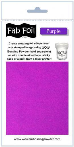 Wow Fab Foil - Purple