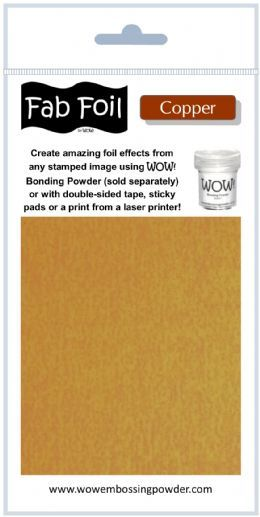 Wow Fab Foil - Bright Copper