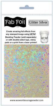 Wow Fab Foil - Glitter Silver