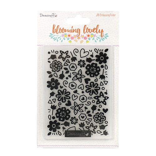 ****NEW**** Blooming Lovely Embossing Folder