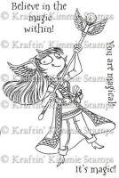 Elisha the mage - Kraftin' Kimmie stamp