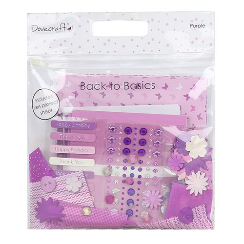 Dovecraft Back To Basics Goody Bag - Purple