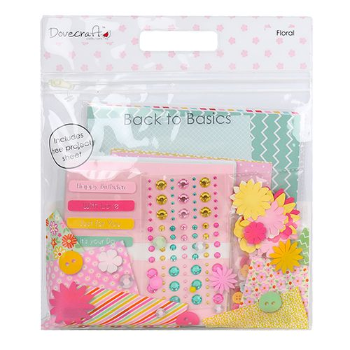 Dovecraft Back To Basics Goody Bag - Floral Brights