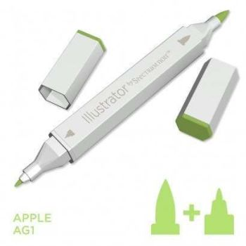 Spectrum noir Illustrator pen AG1 - Apple