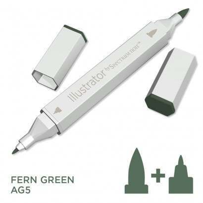 Spectrum noir Illustrator pen AG5 - Fern Green