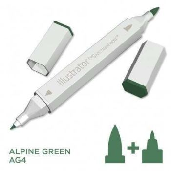 Spectrum noir Illustrator pen AG4 - Alpine Green