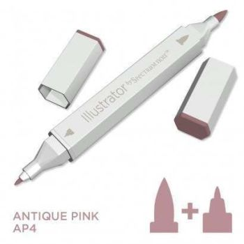 Spectrum noir Illustrator pen AP4 - Antique Pink