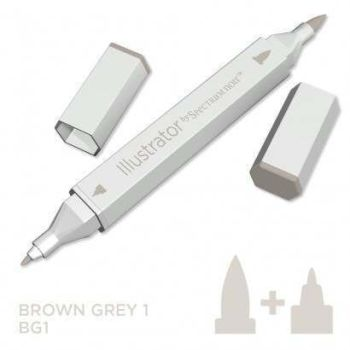 Spectrum noir Illustrator pen BG1 - Brown Grey 1