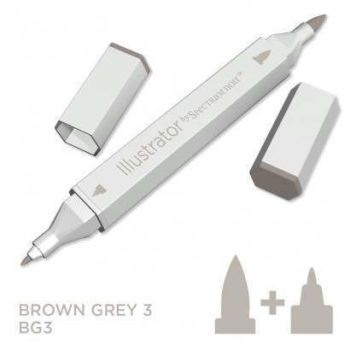 Spectrum noir Illustrator pen BG3 - Brown Grey 3