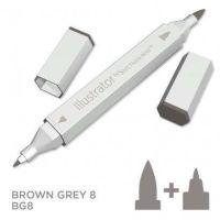 Spectrum noir Illustrator pen BG8- Brown Grey 8