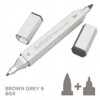 Spectrum noir Illustrator pen BG9- Brown Grey 9