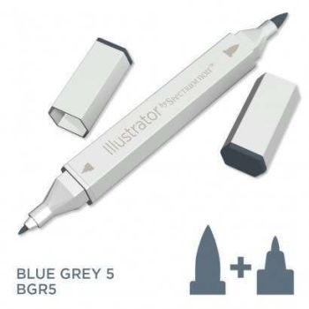 Spectrum noir Illustrator pen BGR5- Blue Grey 5