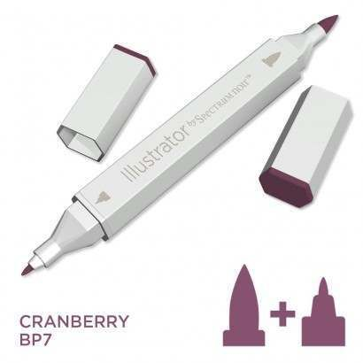 Spectrum noir Illustrator pen BP7 - Cranberry