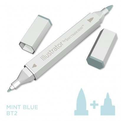 Spectrum noir Illustrator pen BT2 - Mint Blue