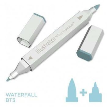 Spectrum noir Illustrator pen BT3 - Waterfall