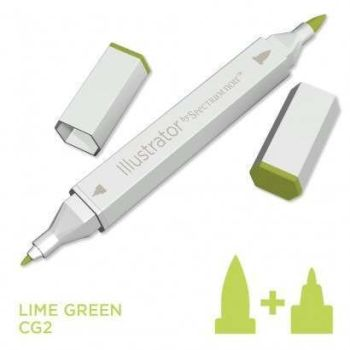 Spectrum noir Illustrator pen CG2 - Lime Green
