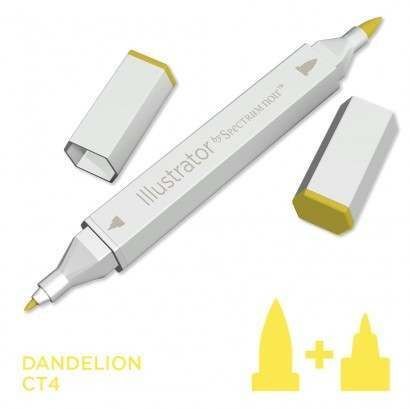 Spectrum noir Illustrator pen CT4 - Dandelion