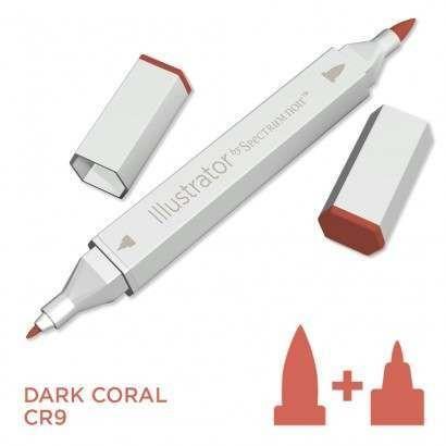 Spectrum noir Illustrator pen CR9 - Dark Coral