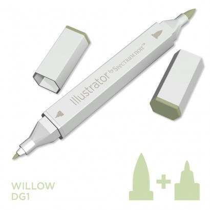 Spectrum noir Illustrator pen DG1 - Willow