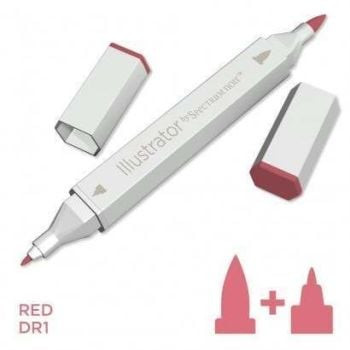 Spectrum noir Illustrator pen DR1 - Red