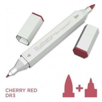Spectrum noir Illustrator pen DR3 - Cherry Red