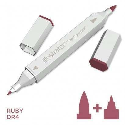 Spectrum noir Illustrator pen DR4 - Ruby