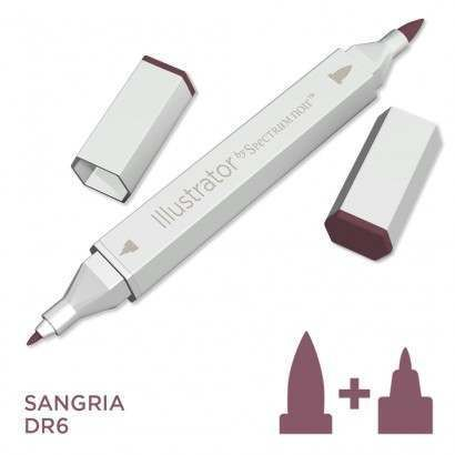 Spectrum noir Illustrator pen DR6 - Sangria