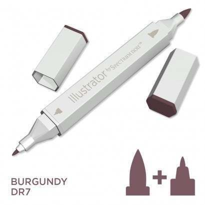 Spectrum noir Illustrator pen DR7 - Burgundy