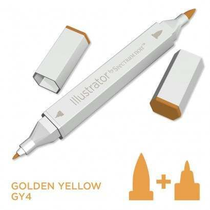 Spectrum noir Illustrator pen GY4 - Golden Yellow