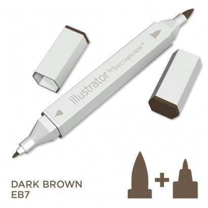 Spectrum noir Illustrator pen EB7 - Dark Brown
