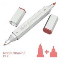Spectrum noir Illustrator pen FL2 - Neon Orange