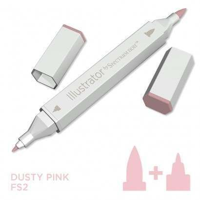 Spectrum noir Illustrator pen FS2 - Dusty Pink