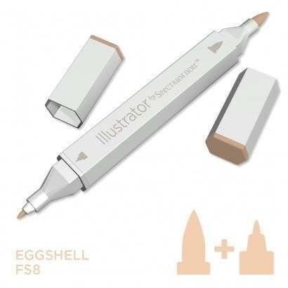 Spectrum noir Illustrator pen FS8 - Eggshell