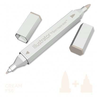 Spectrum noir Illustrator pen FS6 - Cream