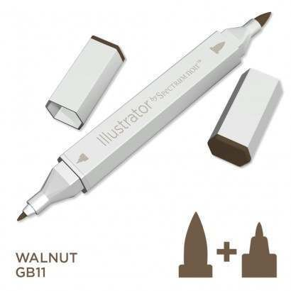 Spectrum noir Illustrator pen GB11 - Walnut