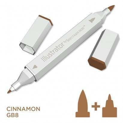 Spectrum noir Illustrator pen GB8 - Cinnamon
