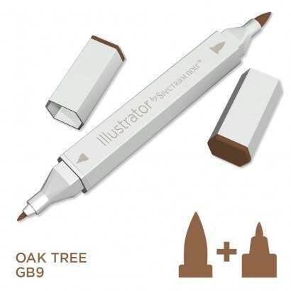 Spectrum noir Illustrator pen GB9 - Oak Tree