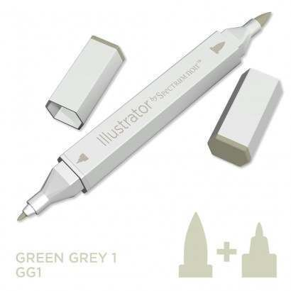 Spectrum noir Illustrator pen GG1 - Green Grey 1