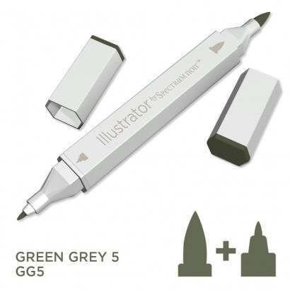 Spectrum noir Illustrator pen GG5 - Green Grey 5