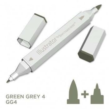 Spectrum noir Illustrator pen GG4 - Green Grey 4