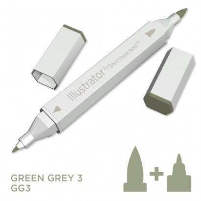 Spectrum noir Illustrator pen GG3 - Green Grey 3