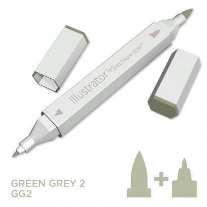 Spectrum noir Illustrator pen GG2 - Green Grey 2